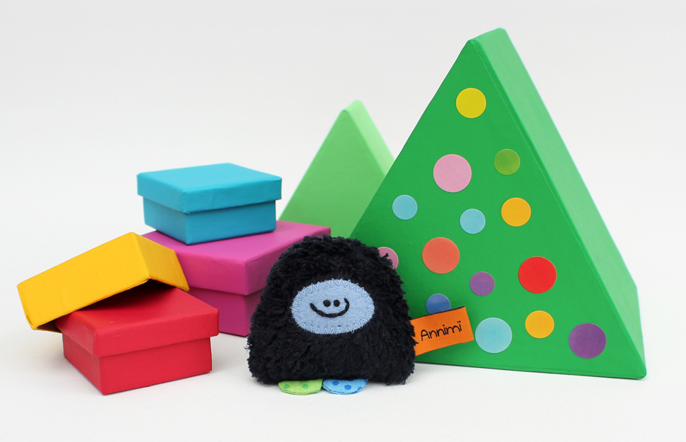 Taschenmonster Weihnachten
