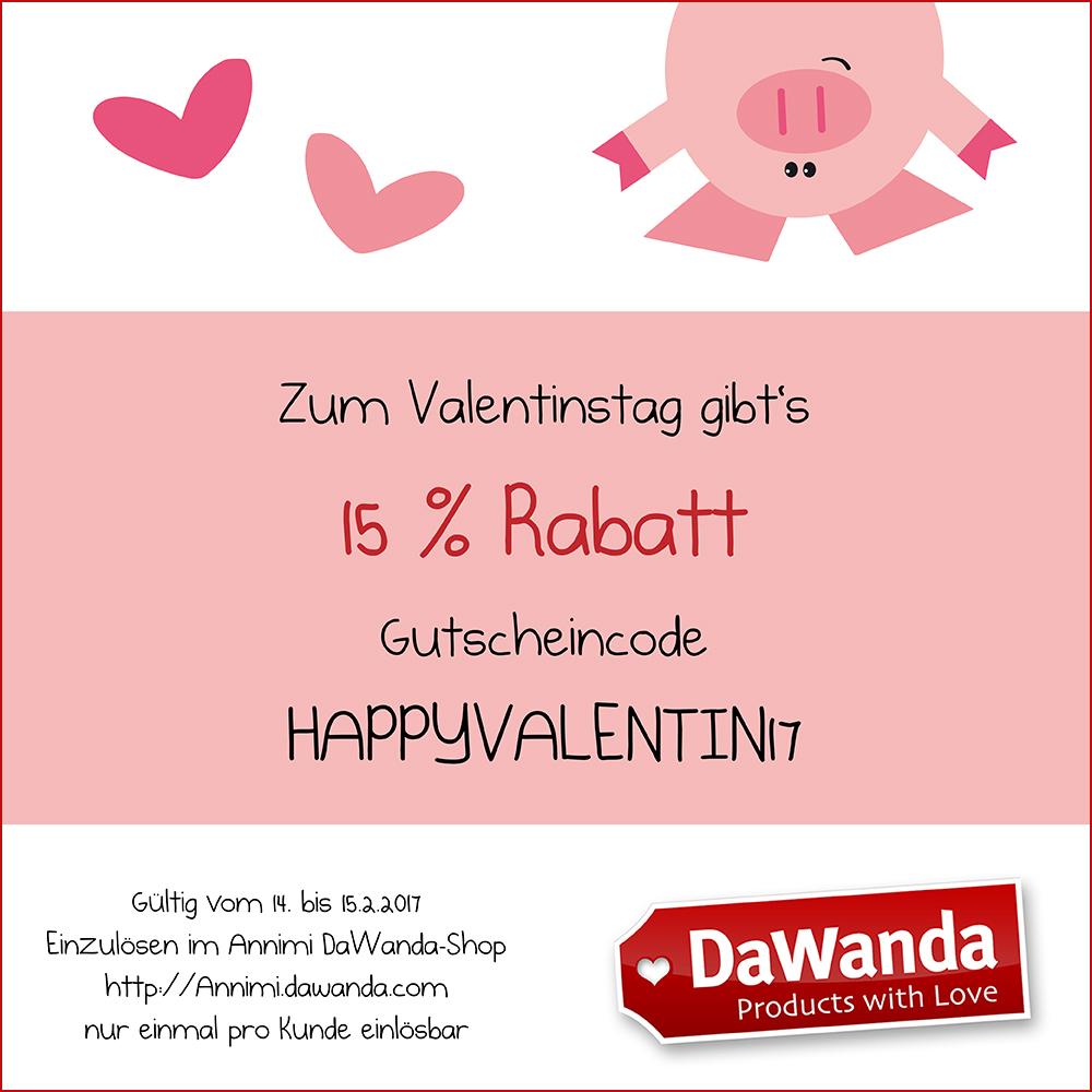 Valentinstag rabatt code