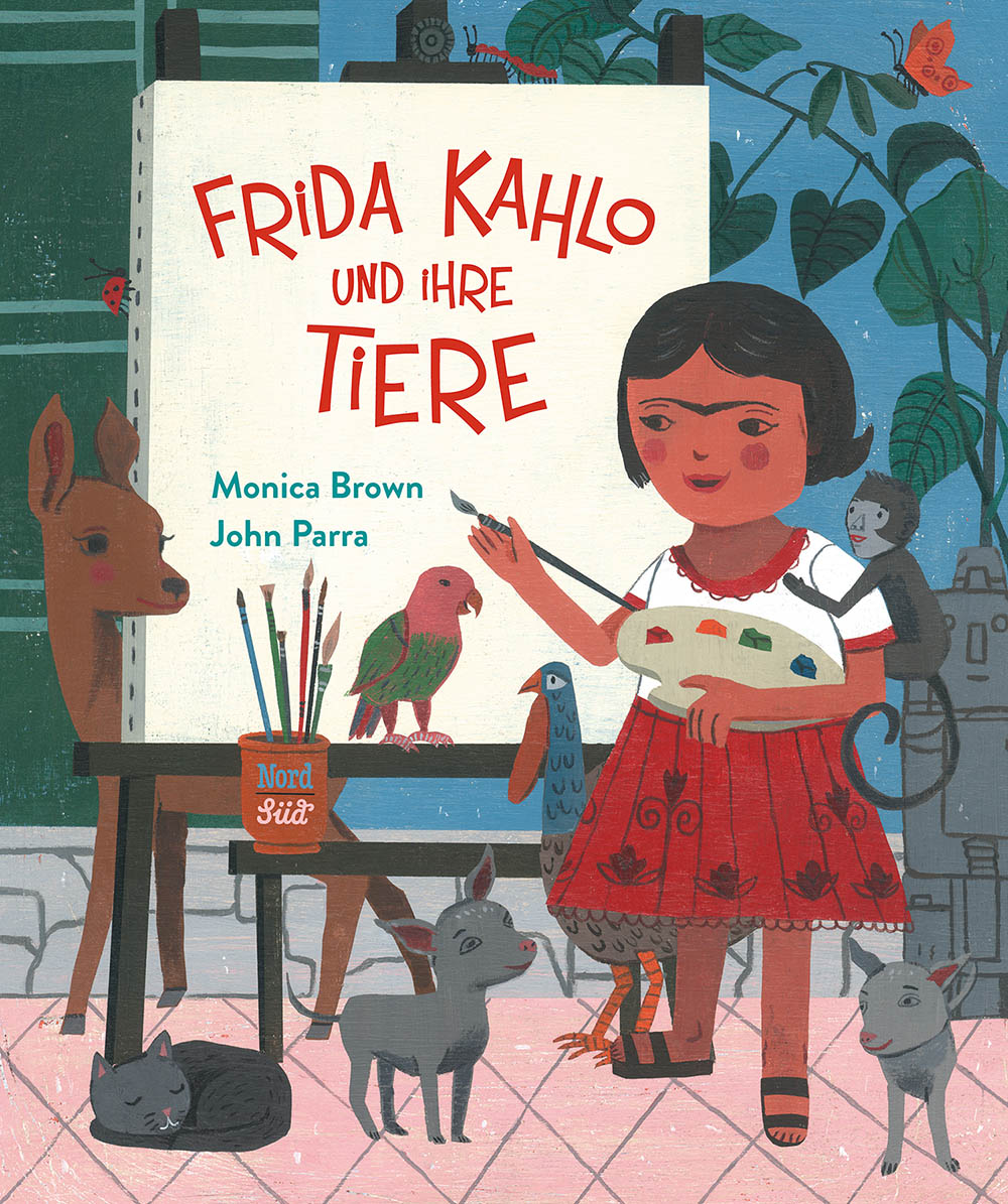 Buchtitel Frida Kahlo und ihre Tiere aus dem NordSued Verlag