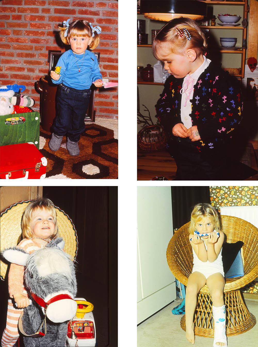 Fotos von Anni als Kind