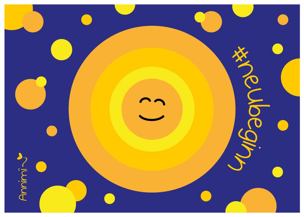 Sonne, Saat, Zelle - Bild zur Annimi Illustrationschallenge #52goodthings Nr. 51: Neubeginn