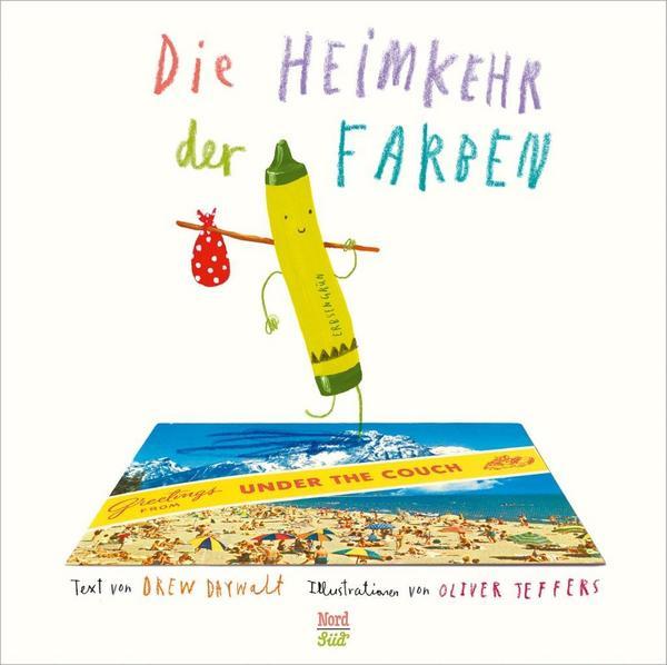 Buchtitel NordSued Verlag Die Heimkehr der Farben