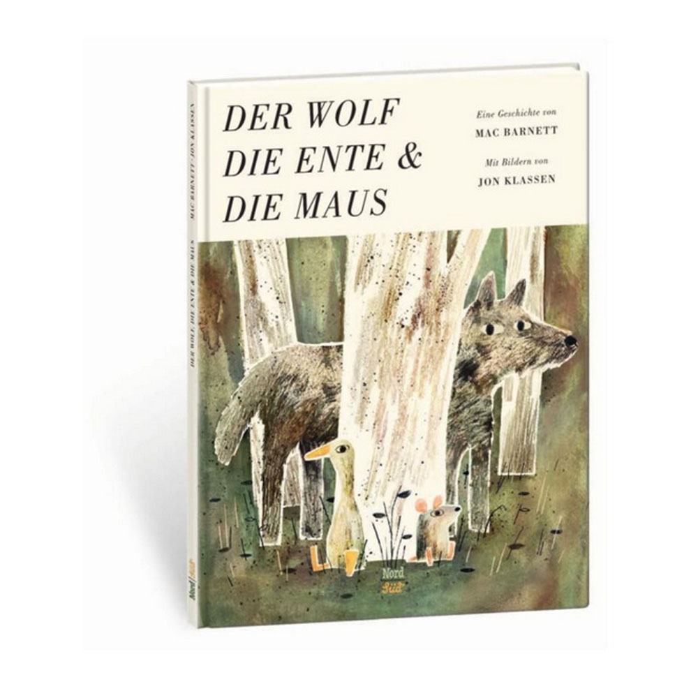 Der Wolf, die Ente & die Maus von Jon Klassen - Buchvorstellung von Annimi