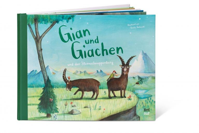 Gian und Giachen und der Sternschnuppenberg – Buchvorstellung