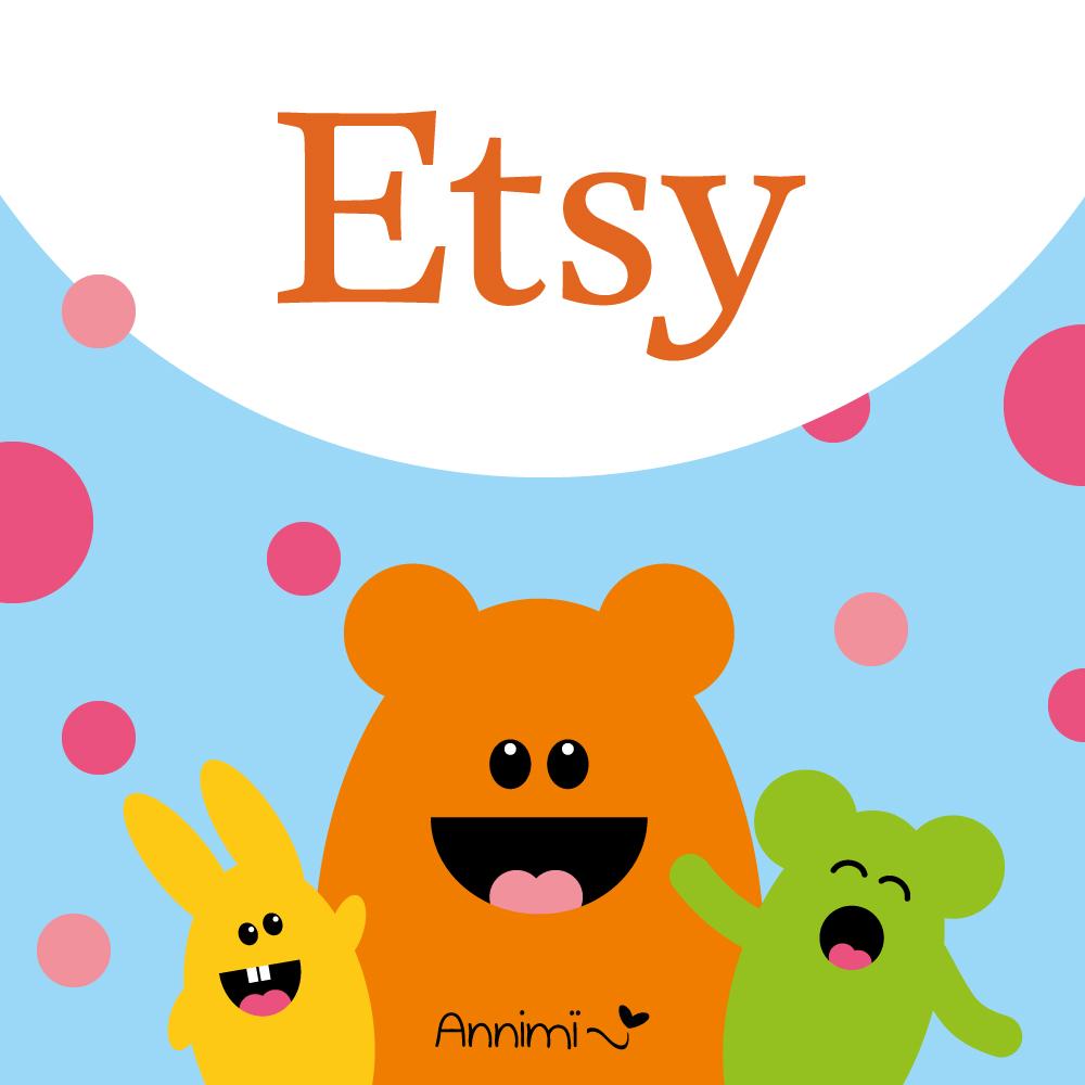 Annimi ist jetzt auf Etsy - Annimi Etsy-Shop
