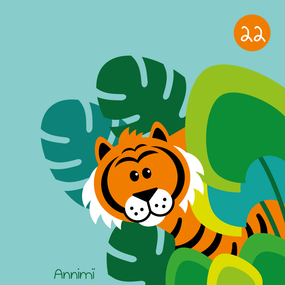 Annimi - Proud of - Tiger im Dschungel