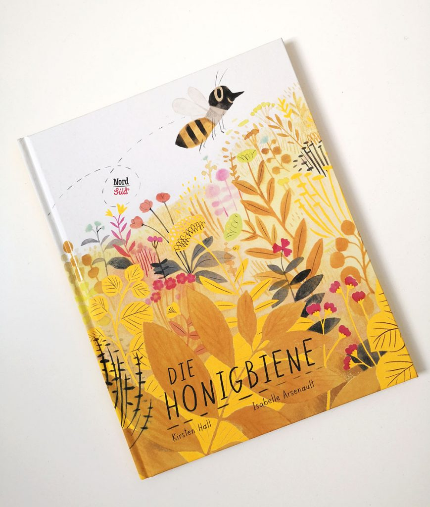 Buchtitel Die Honigbiene von NordSüd