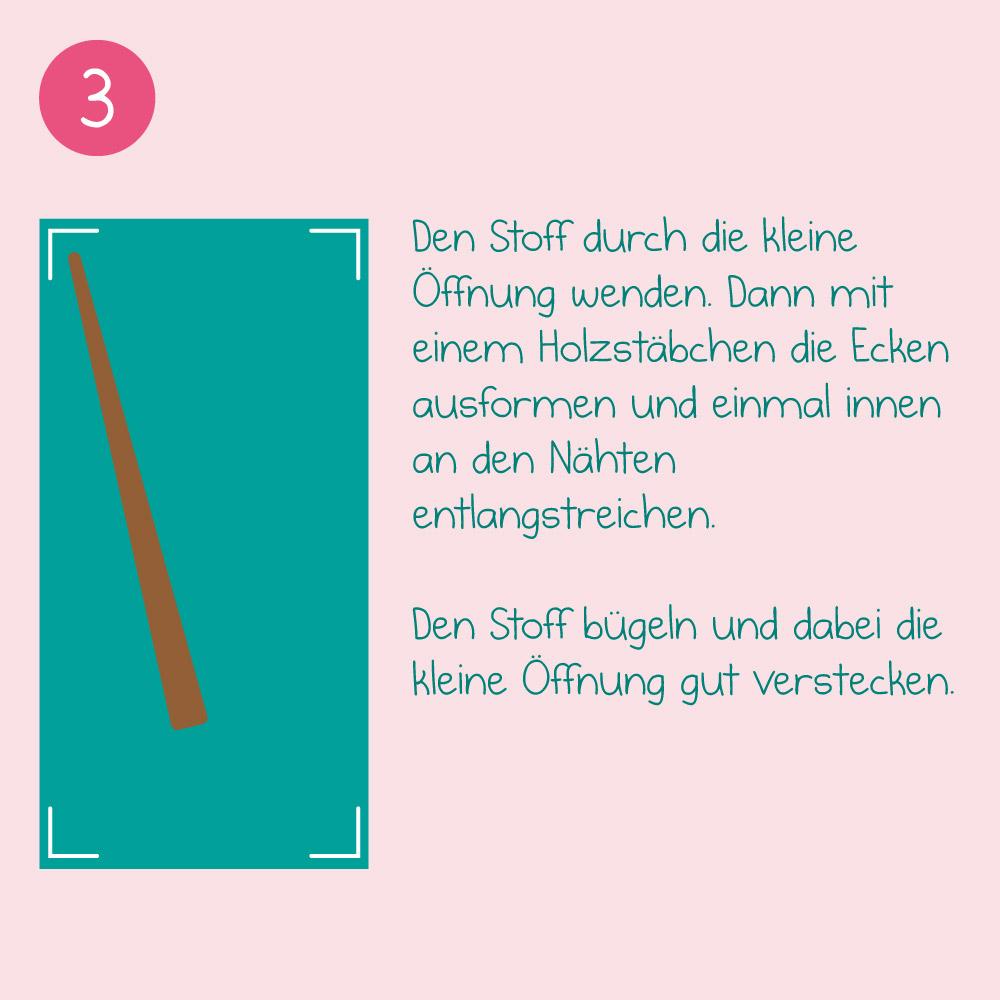 DIY-Nähanleitung - Schritt 3