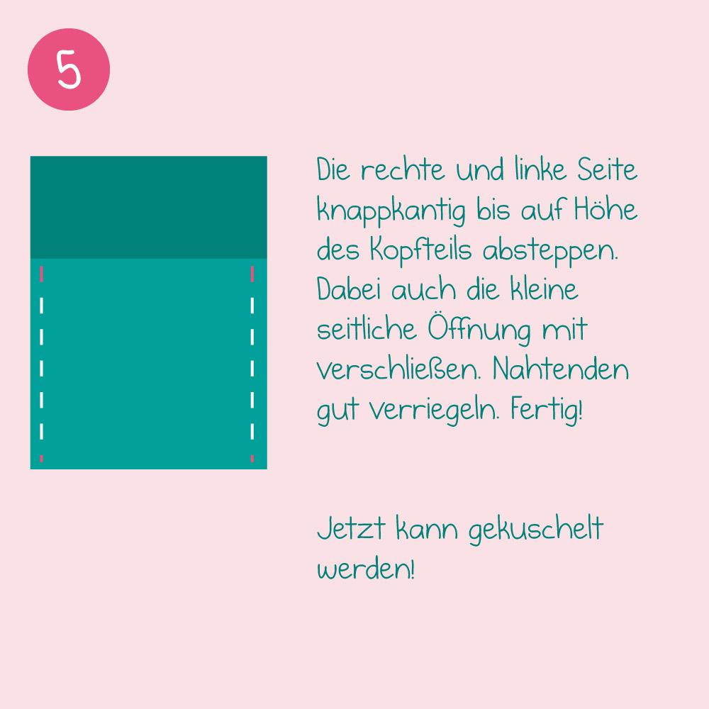 DIY-Nähanleitung - Schritt 5