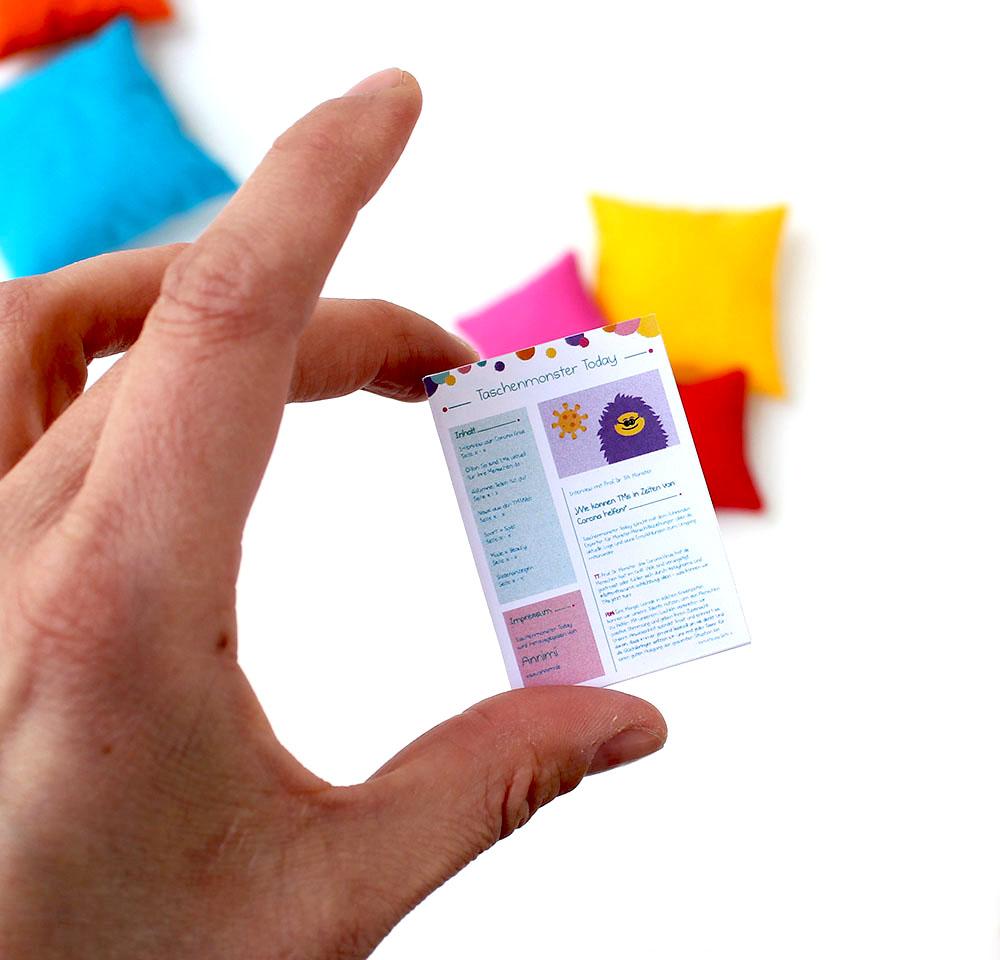 Taschenmonster Today im Taschenmonster-Format
