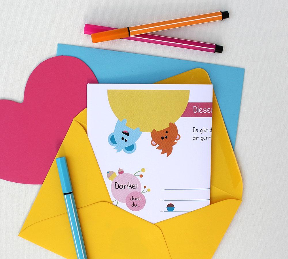 Brief an Freunde schreiben